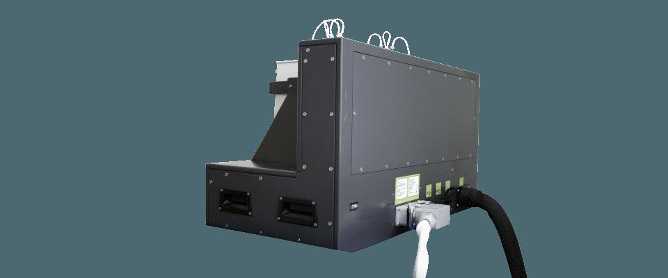 Rear angled view - Algae photobioreactor