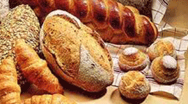 cornetti, pane integrale, pane dolce