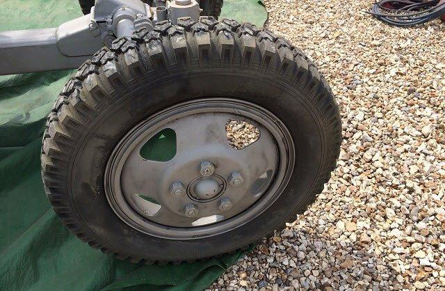 Wheel for grit blasting