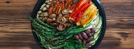 Mediterranean Grilled Vegetable Platter