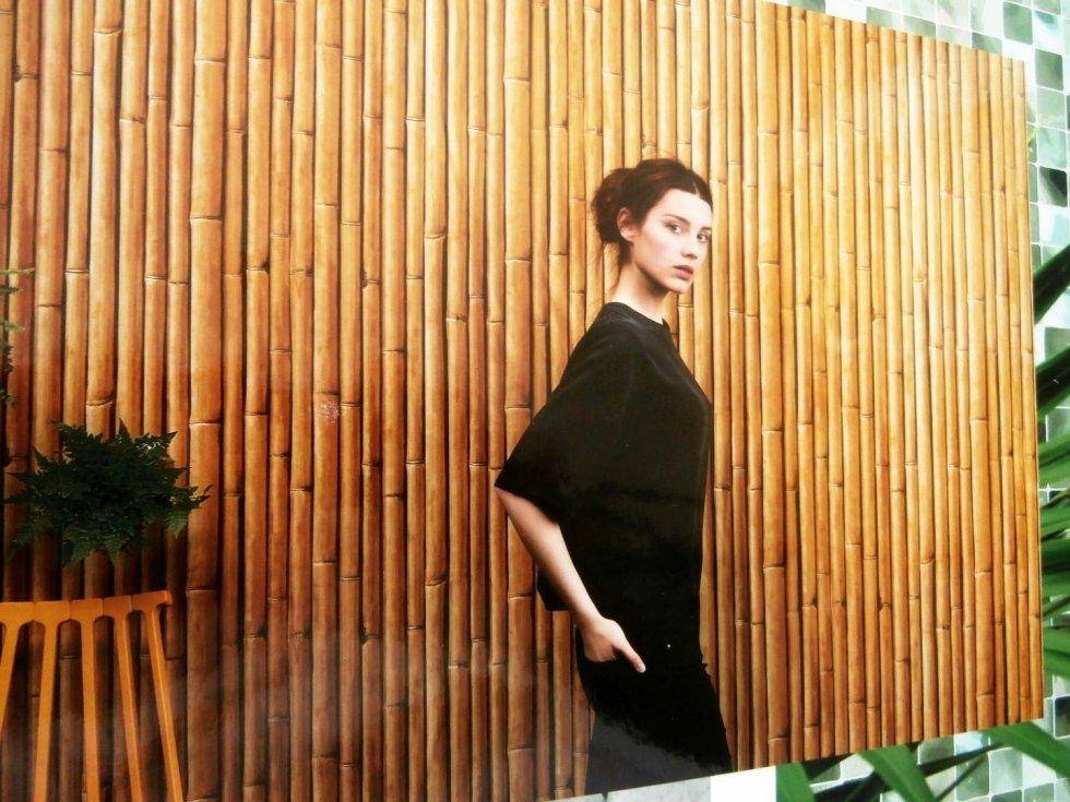 parete in bamboo