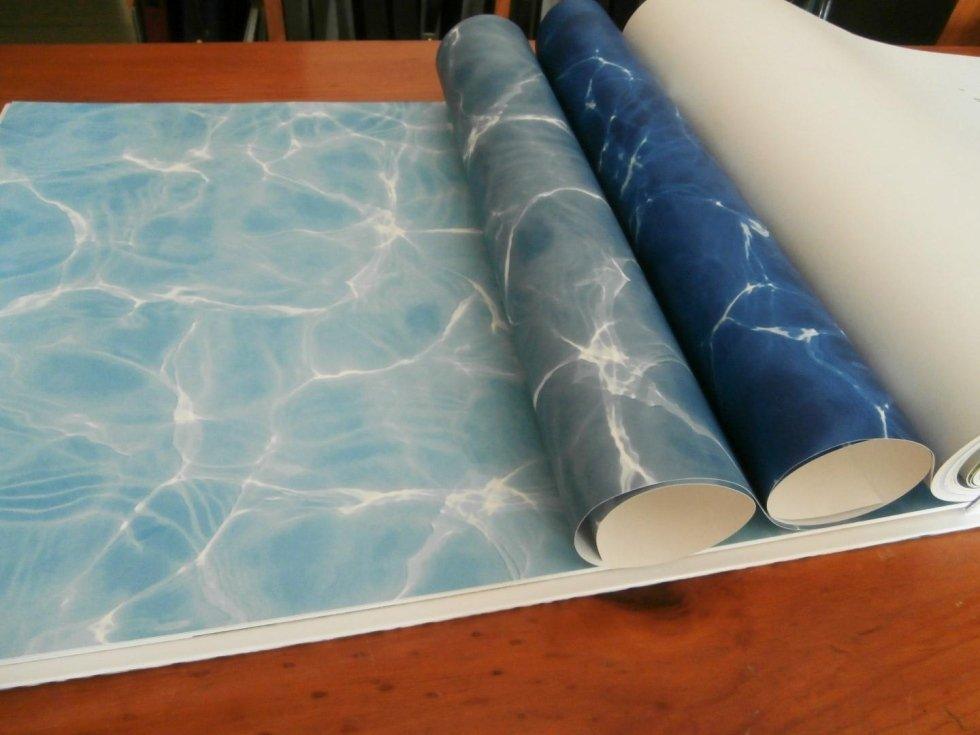 rotoli tappezzeria effetto acqua