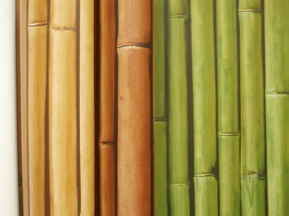 rivestimento effetto bamboo
