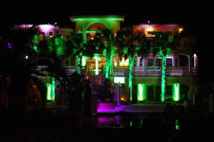 Evans Entertainment Lighting, Video, monogram, DJ, Grand Ritz Palm Duck Outer banks north carolina