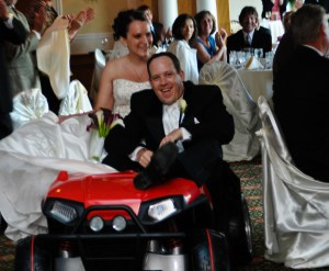 Danielle and TJ car intro center square golf club skippack pa