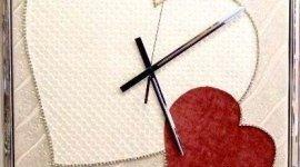 orologi da parete, orologi in argento