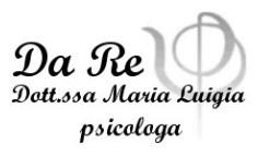DA RE DOTT.SSA MARIA LUIGIA - LOGO
