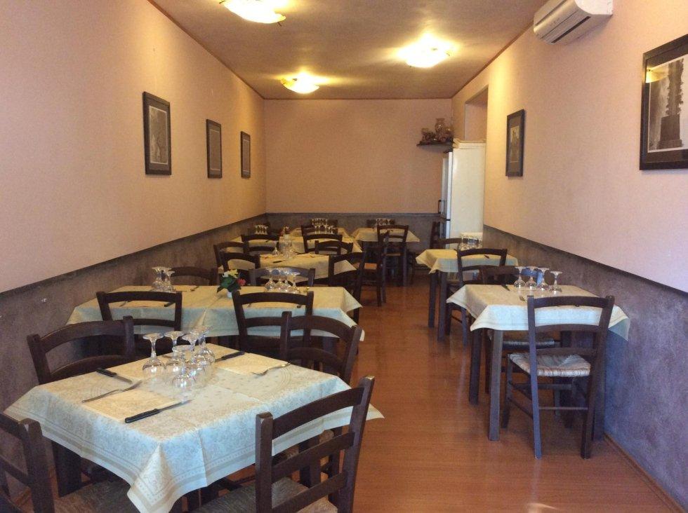 Sala Interna - Ristorante La Mensa del Conte - Pienza