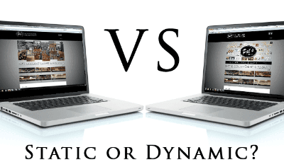 Static Websites vs Dynamic websites