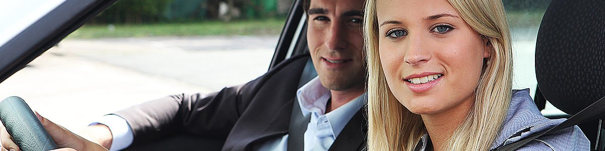Driving school, cheap and friendly, with female driving instructors