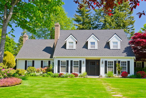 A house in Milford where our land surveyors performed residential surveying