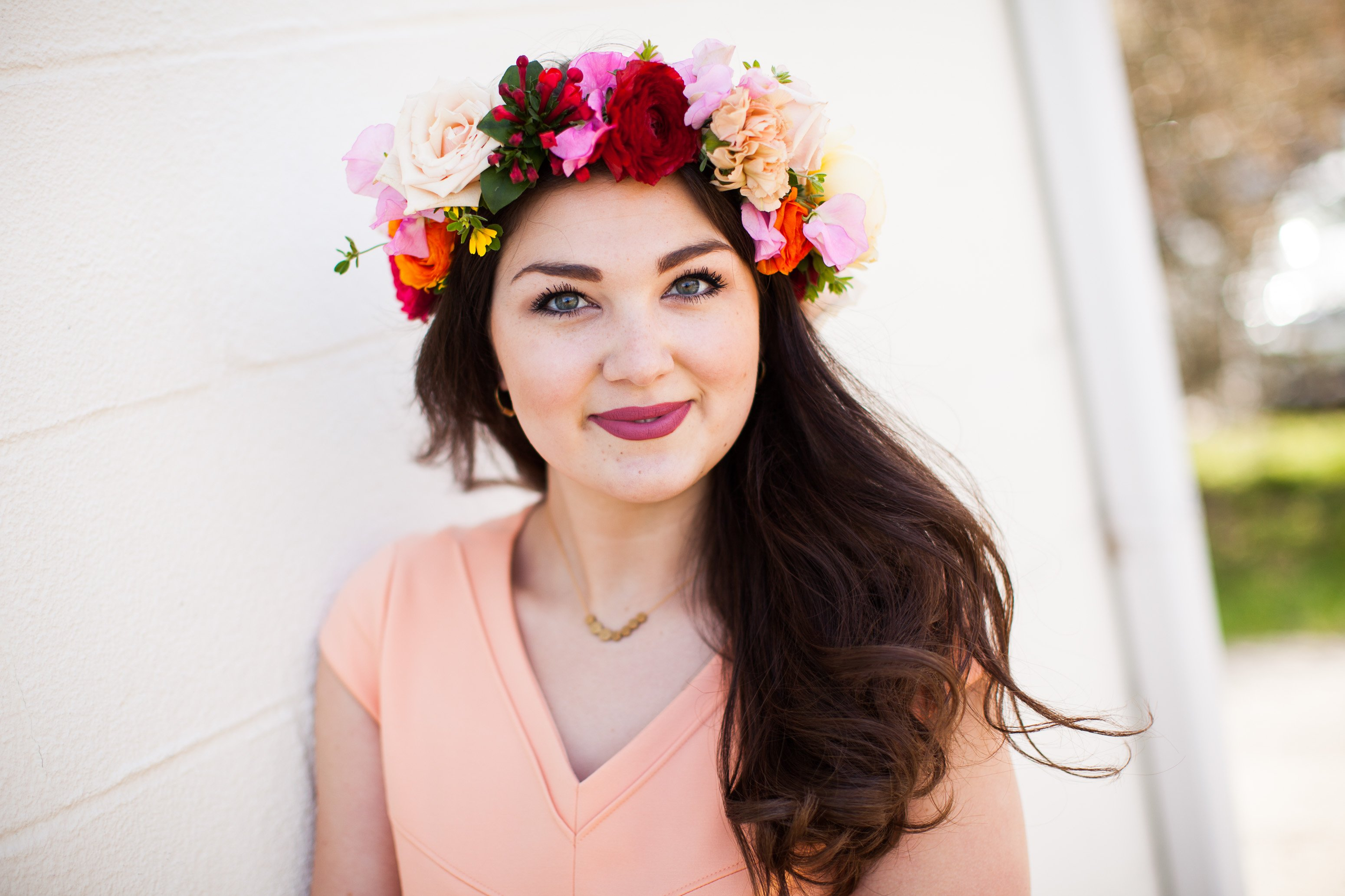 floral hair pieces crowns