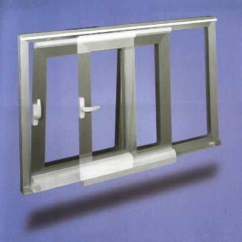 Finestra scorrevole parallello alluminio