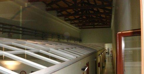 tetto in vetro