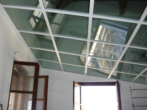 soffitto in vetro
