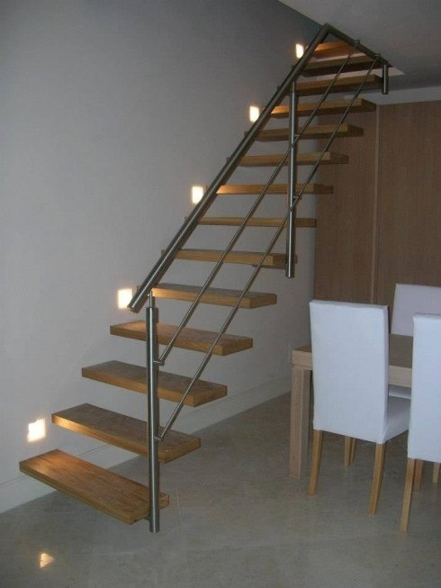 scala con gradini a vista