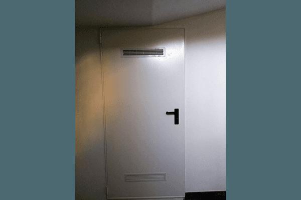 isolamento porte acciaio