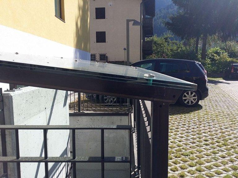 tetto ferro vetro
