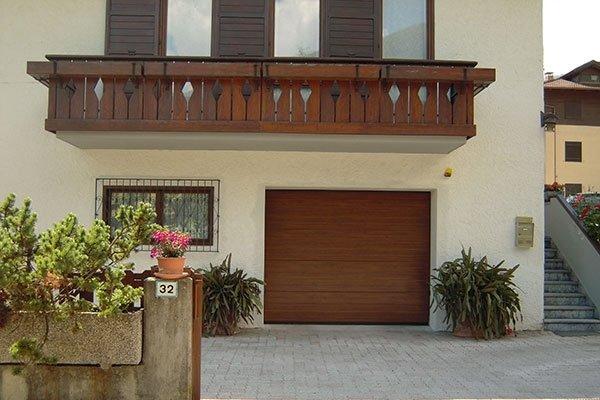 sezionale acciaio legno