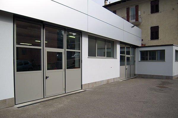 porte industriali alluminio