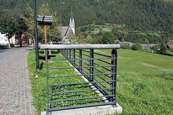 recinto ferro verniciato