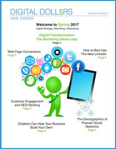 Spring Edition Cover of Digital Dollars and Sense