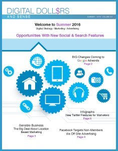 Digital Dollars & Sense Summer 2016