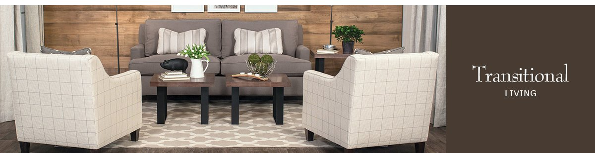 Buy American Made Transitional Furniture Today Any Room