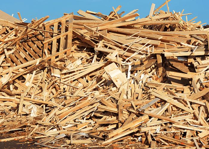 riciclo legno