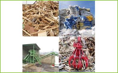 La ditta LCM esegue il recupero di legno ed alti materiali.