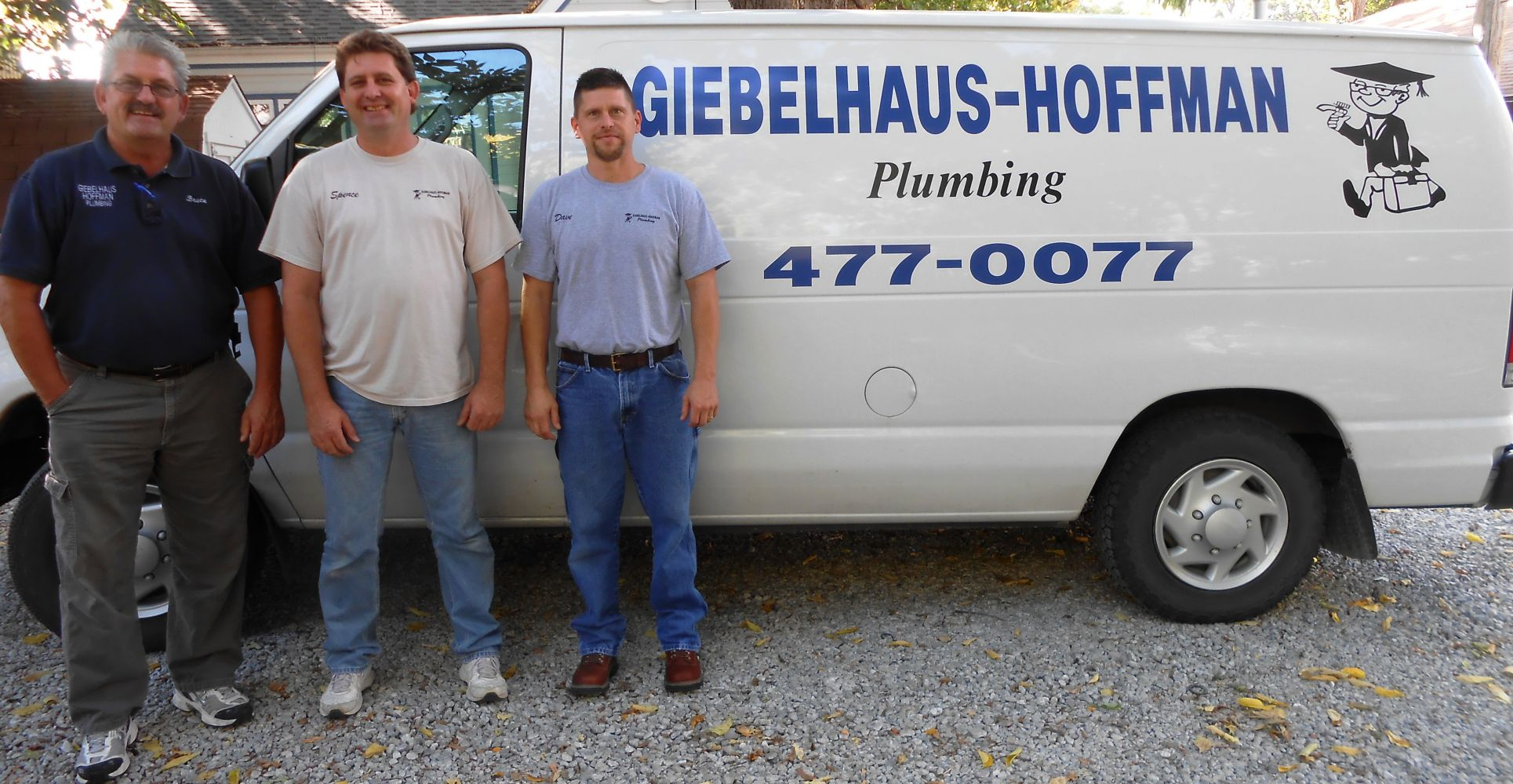 Team of plumbers in Lincoln, NE