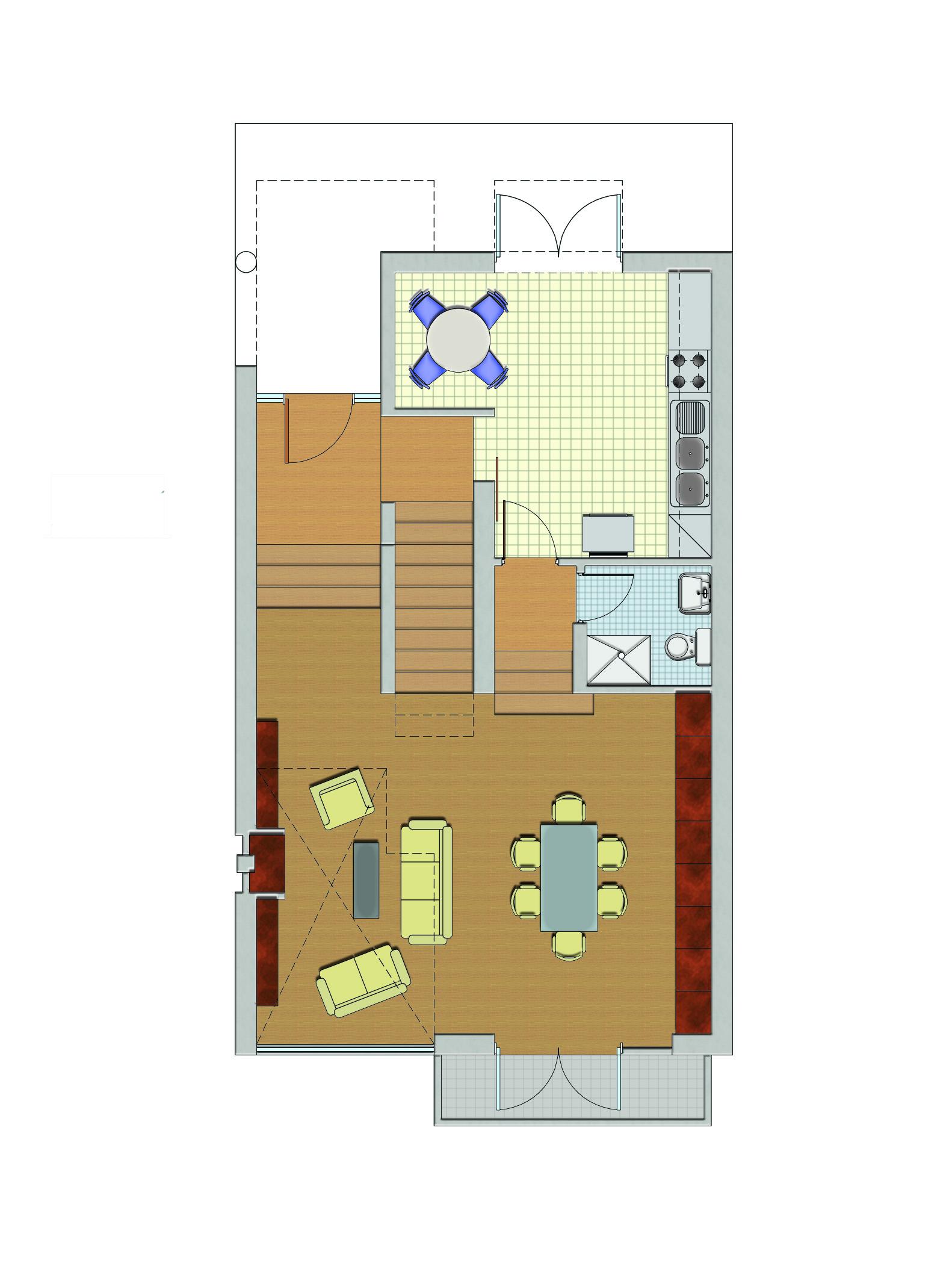 progettazione interni di un monolocale
