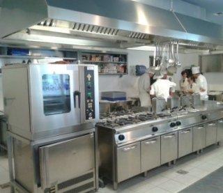 cucine professionali, cucine componibili, attrezzature industriali