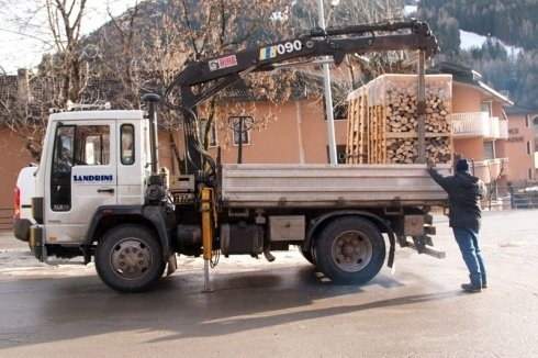 consegna legname