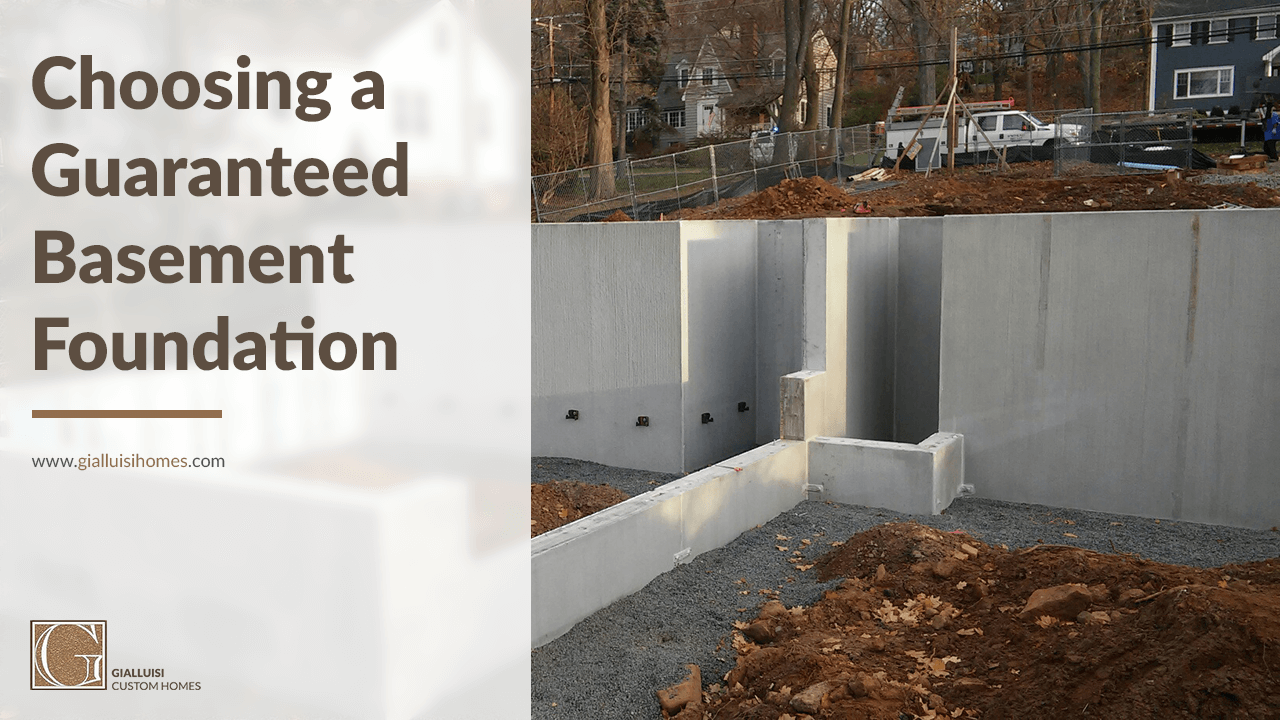 build your foundation to last how to choose a basement foundation