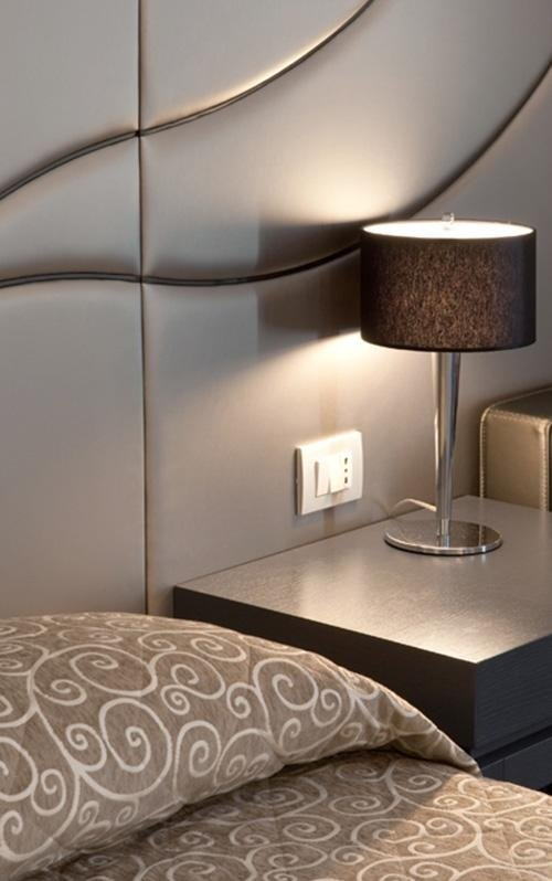 fornitura lampade albergo