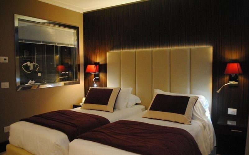corredo letto alberghi