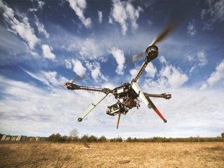 rilievo topografico con drone