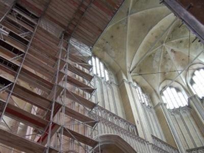 Ponteggi per restauro