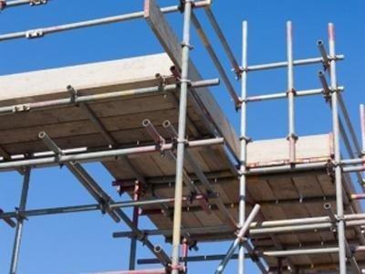 Ponteggi in tubolari per l'edilizia