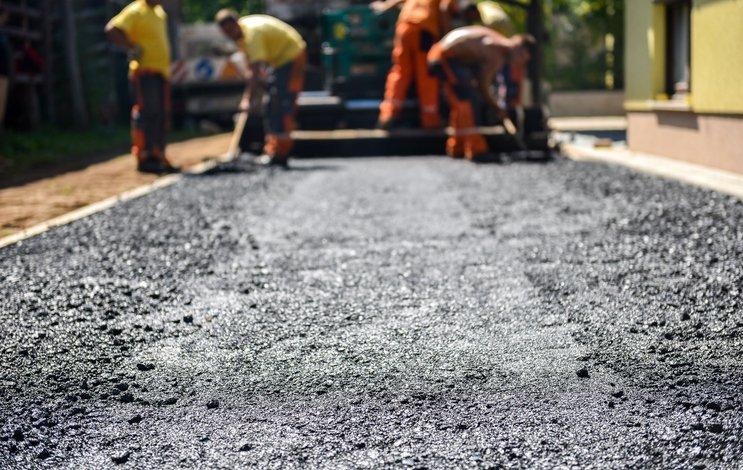 asphalt paving in bryan, tx