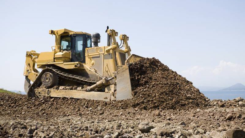 Excavation for residential site work for College Station, TX