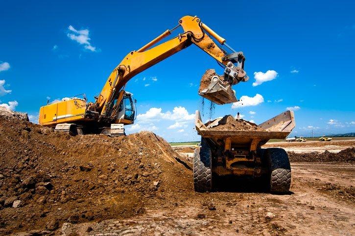 Sand materials, gravel materials, & finish grading services provided by Kelly Burt Dozer Inc.