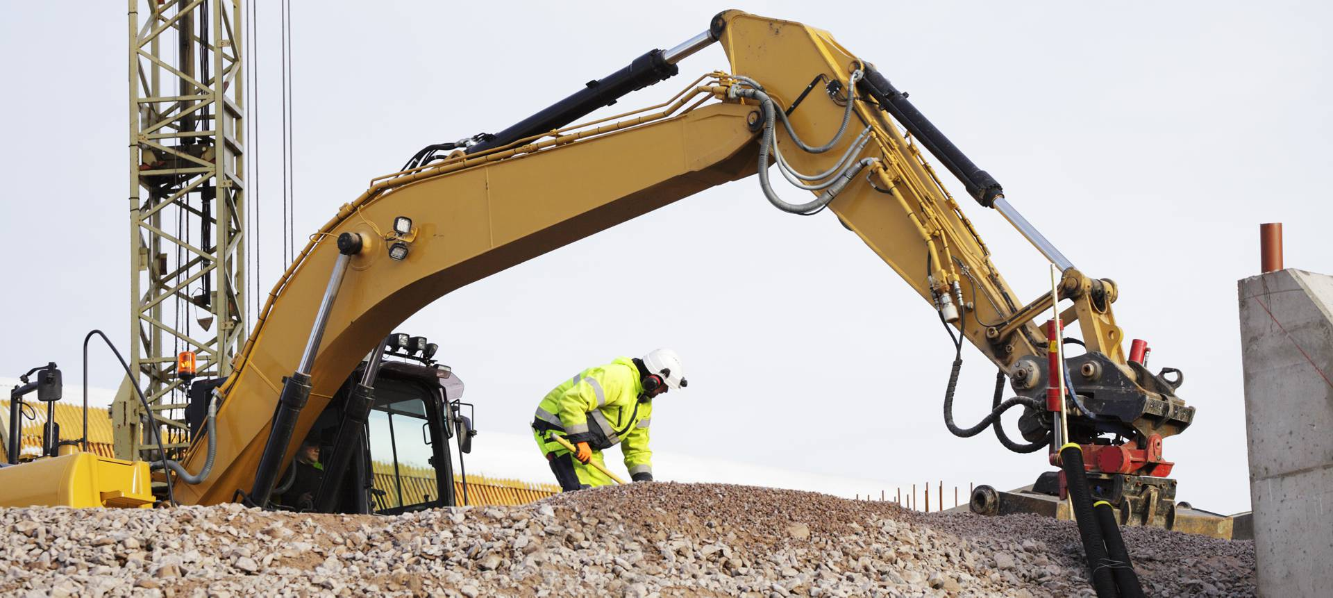 Commercial excavation site preparation in College Station, TX
