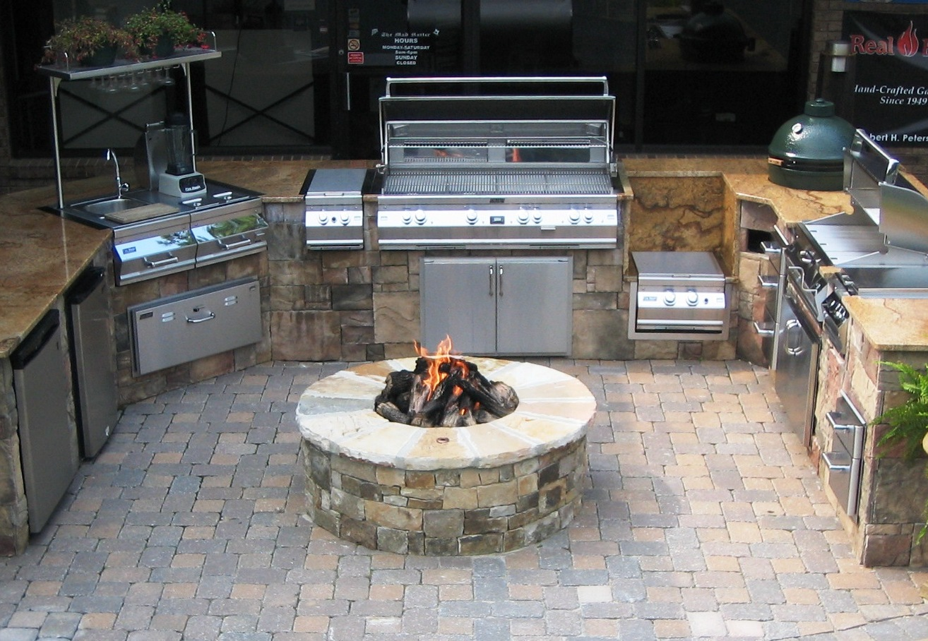The Mad Hatter Gas Logs And Outdoor Grills In Atlanta