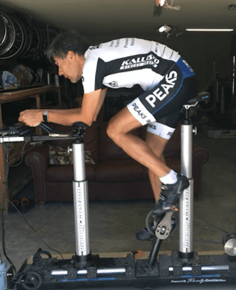 Jaime Tolentino, Elite Cycling Coach With Peaks Coaching Group