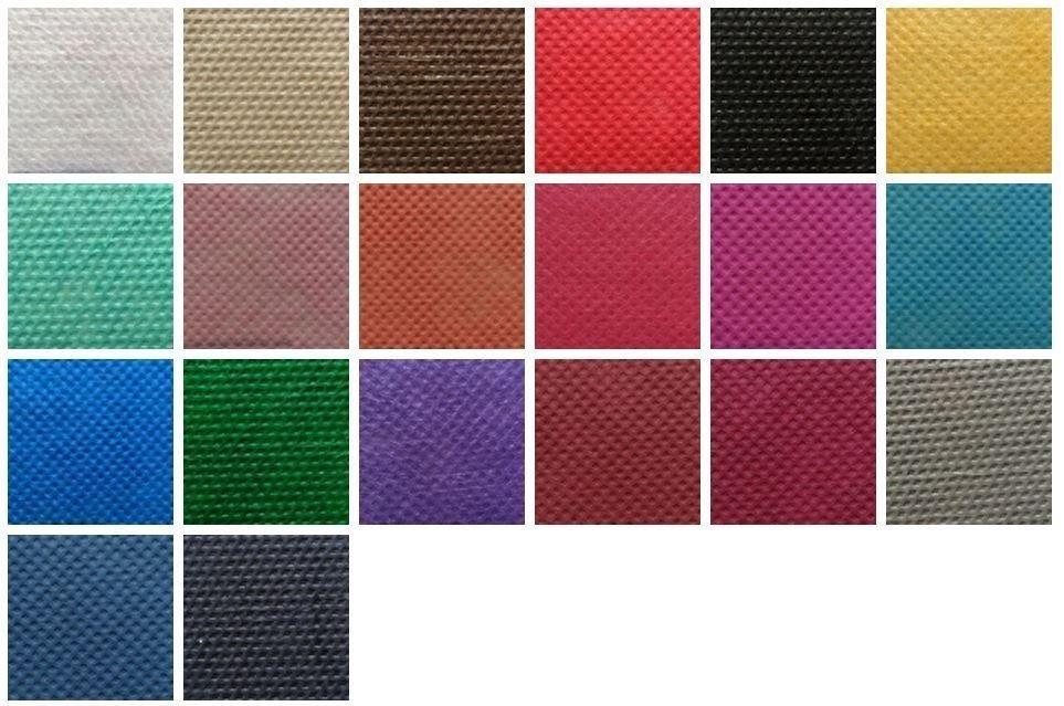 colori tessuto non tessuto