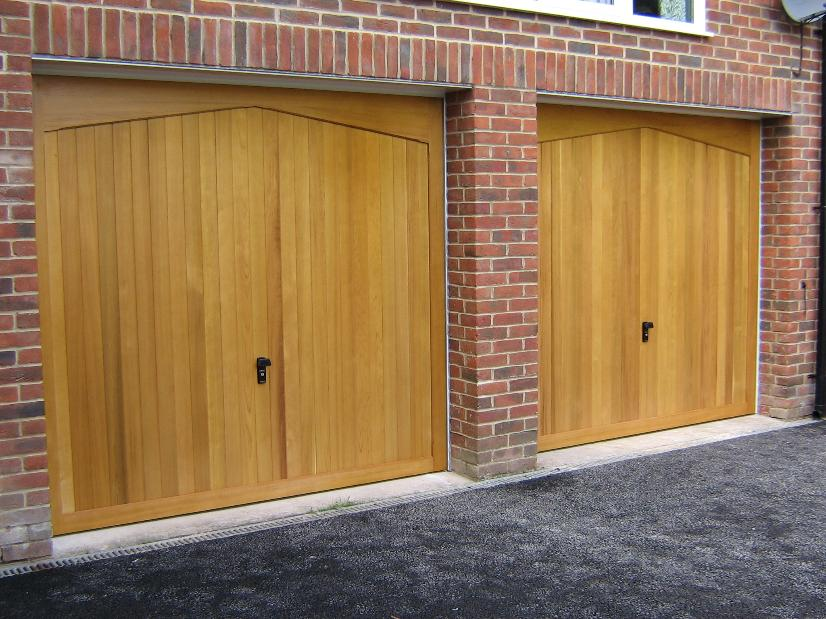 Big grey garage door installed in East Sussex