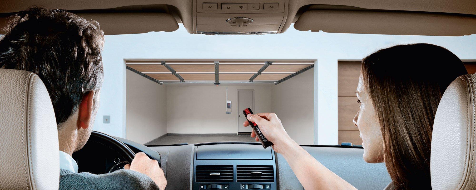 Automated garage door installed in sussex