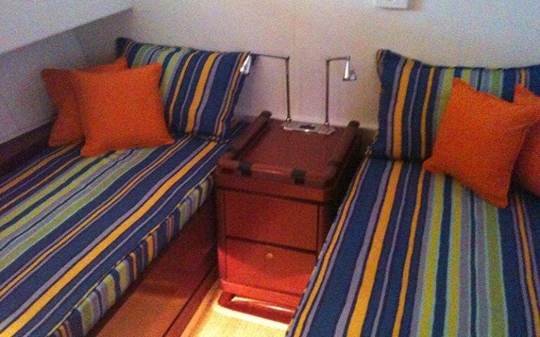 camera doppia per yacht